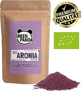 Polvo de Aronia orgánica de cultivo austriaco, bayas de