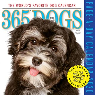 365 Dogs Color Page-A-Day Calendar 2020 [6