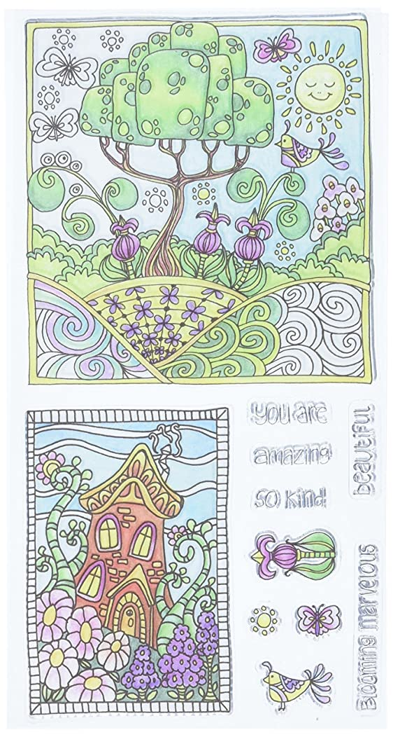 Hampton Art Color Me Clear Stamps 4