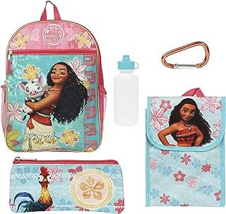 moana backpack set