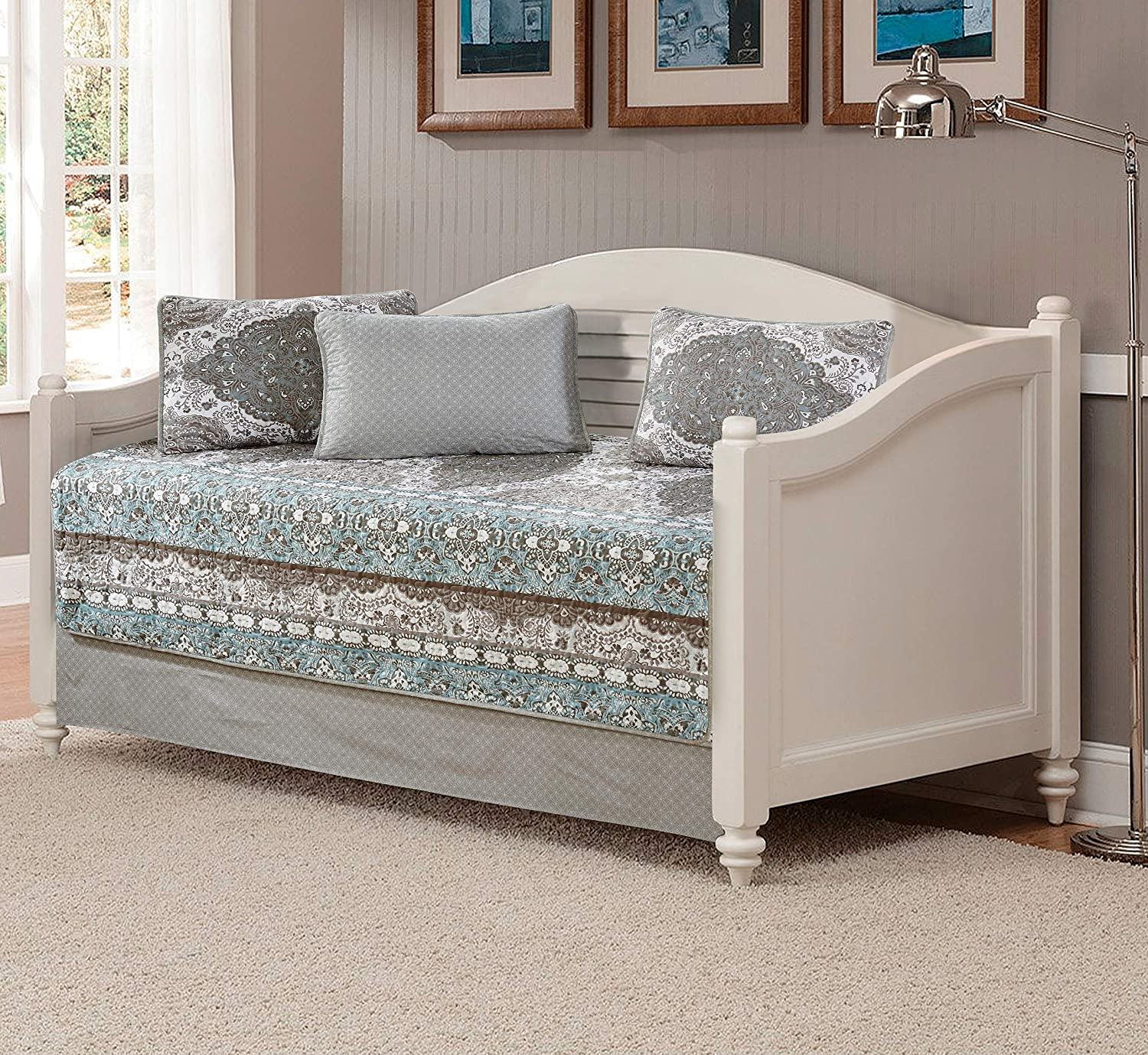 Fancy Collection 5pc Day Bed Over item handling ☆ Quilted Coverlet Daybed Sa New Max 89% OFF Set