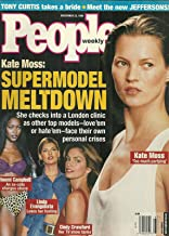 Kate Moss, Cindy Crawford, Linda Evangelista, Naomi Campbell - November 23, 1998 People Weekly Magazine