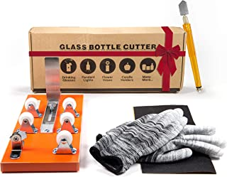 Bottle Cutter & Glass Cutter Bundle – DIY Machine for Cutting Wine, Beer,..