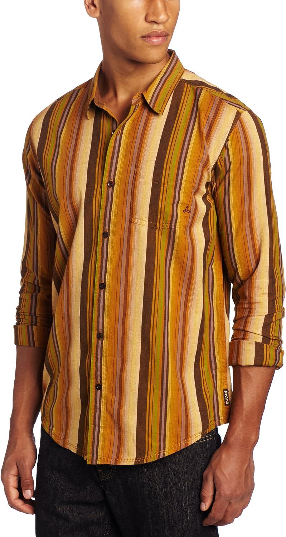 Prana 価格 Men's Sonora Long Sleeve Woven 美品 Shirt