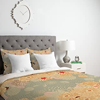 Deny Designs Iveta Abolina Creme De La Creme Duvet Cover with pillow Shams, King