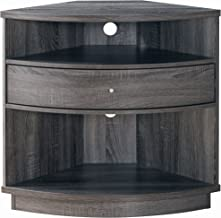 HOMES: Inside + Out Sepper Wine Cabinet, Distressed Gray