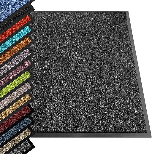 etm® Schmutzfangmatte – Note 1,6: Sieger Preis-Leistung – Fußmatte in vielen Größen – Türmatte Fußabstreifer für Haustür innen und außen…
