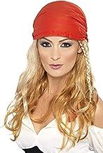 ウィッグ バンダナ ブロンド 女海賊風 ロング 大人女性用 Pirate Princess Wig