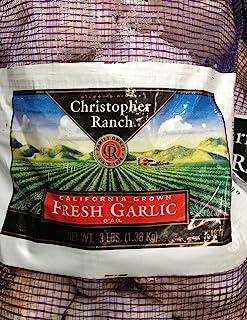 3 Pounds Fresh Garlic USA California Grown Gilroy Finest