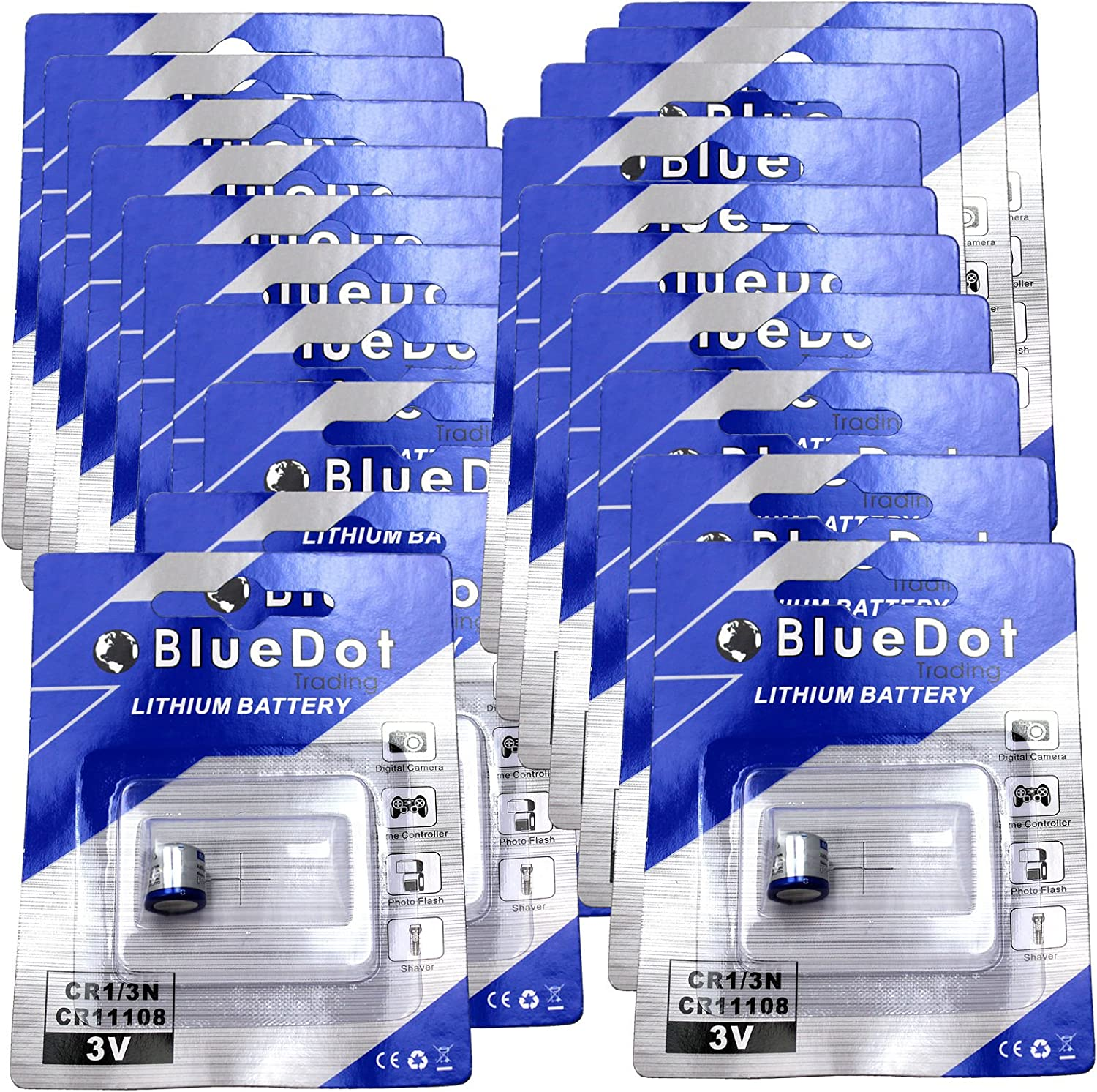 online shopping BlueDot Trading CR1 3N Batteries Lithium Cell 20 Shipping included
