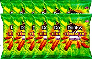 NEW Doritos Dinamita Chile Limon Flavored Tortilla Chips 4.25 Oz (12)