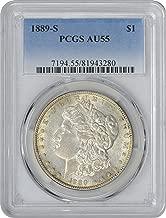 1889s morgan silver dollar