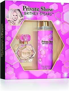 Britney Spears Private Show Ladies Gift Set, includes fine fragrance mist of 8 fl oz and an EDP parfum spray vaporisateur of 1 fl oz.