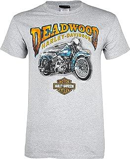 Harley-Davidson Deadwood Men's Vintage Mint Short Sleeve T-Shirt