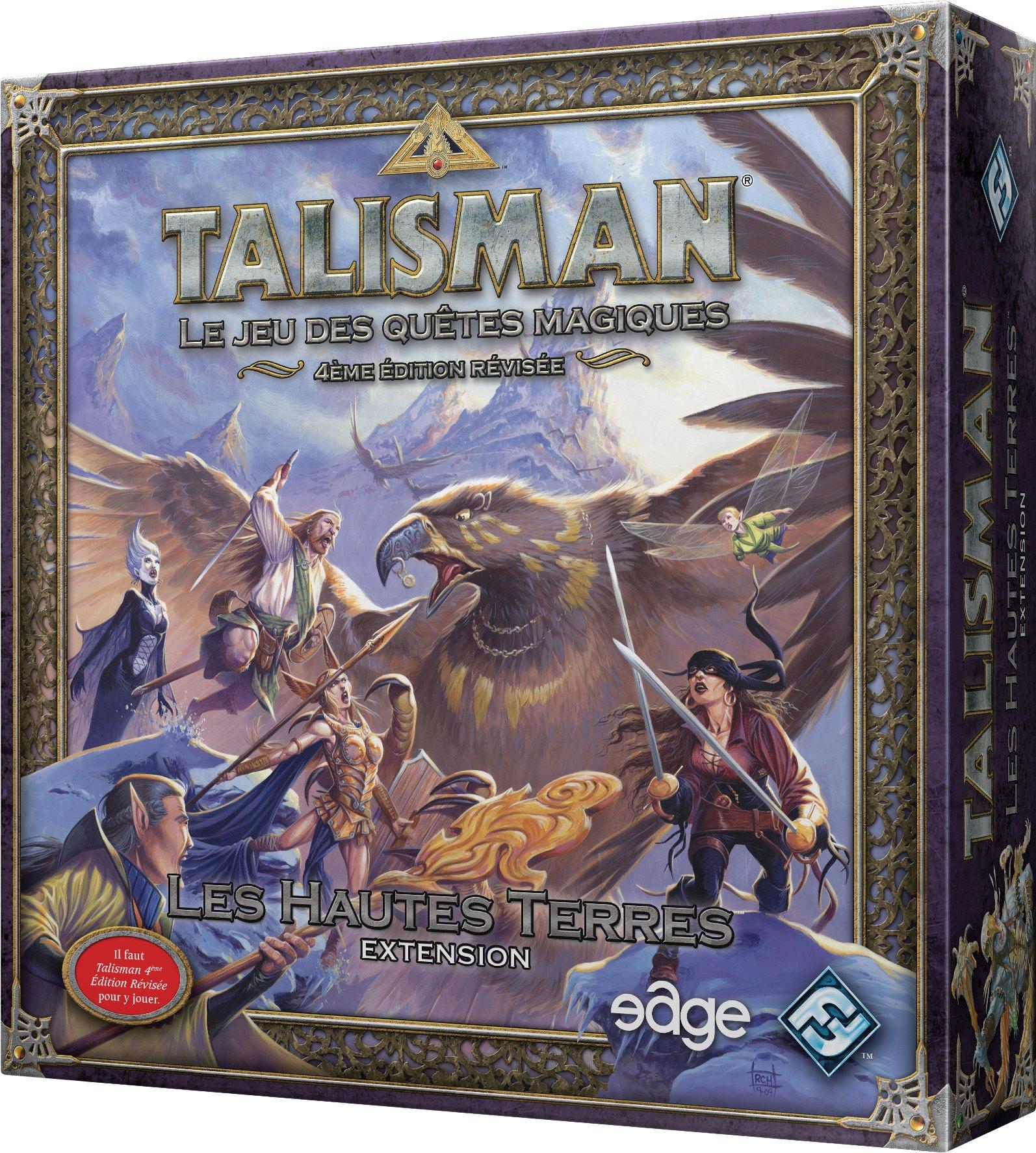 Asmodee – ubitl05 – Talisman – Les Hautes Terres: Amazon.es: Juguetes y juegos
