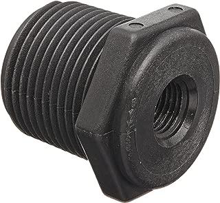 Banjo RB075-018 Polypropylene Pipe Fitting, Reducing Bushing, Schedule 80, 3/4 NPT Male x 1/8