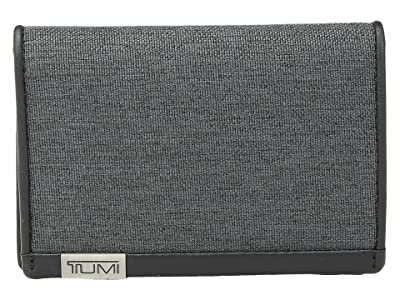 Tumi Alpha Multi Window Card Case (Anthracite/Black) Credit card Wallet