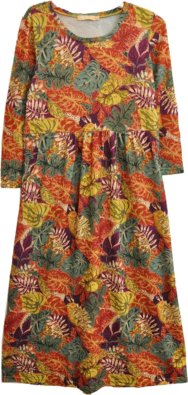 LA CERA Plus Size Women's Very Topics on TV popular 4 Printed Dress 3 Sleeve