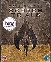 Maze Runner - Die Auserwählten in der Brandwüste, The Maze Runner: The Scorch Trials - HMV Exclusive Steelbook (Blu-ray + UV Copy) (UK Import ohne dt. Ton), Uncut, Regionfree, OOP