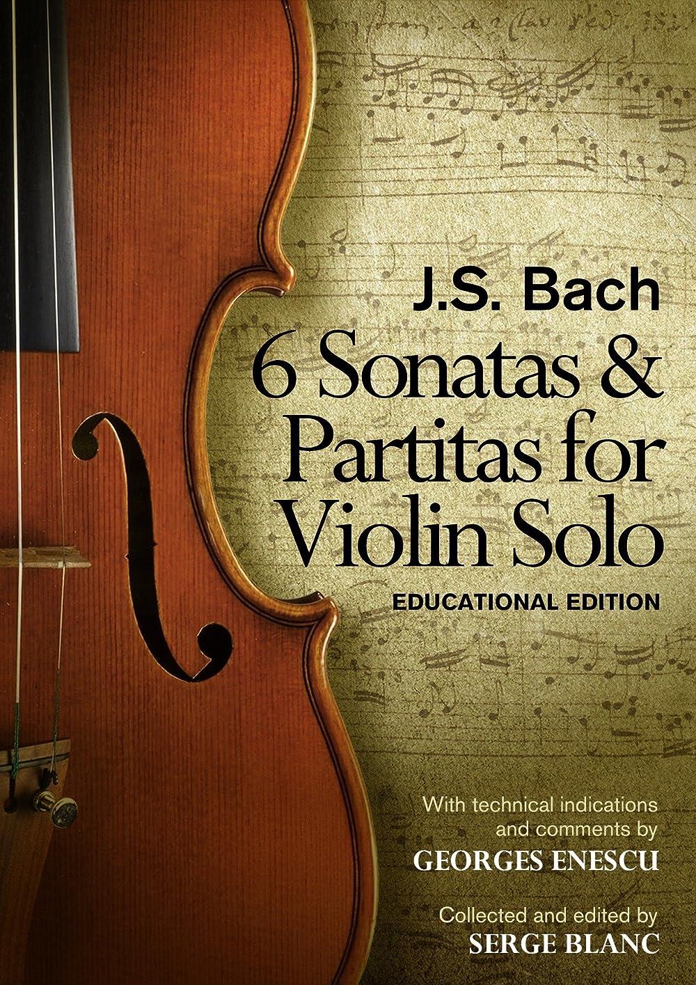 海上ペインギリック錫Sonatas & Partitas of J.S. Bach: Educational Edition (English Edition)