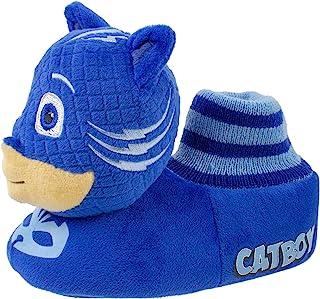 PJ Masks Boys Slippers، Catboy and Gekko، Socktop Slip On Slipper، پسران نو پا و دختران اندازه 5 تا 12.