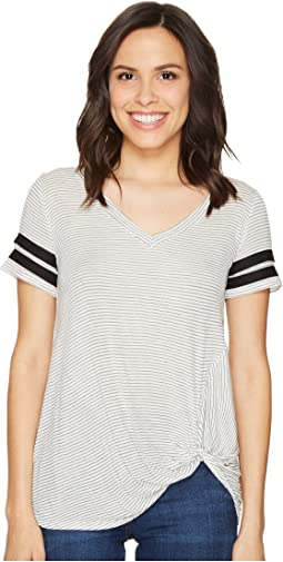 Culture Phit - Keely Short Sleeve Striped Top