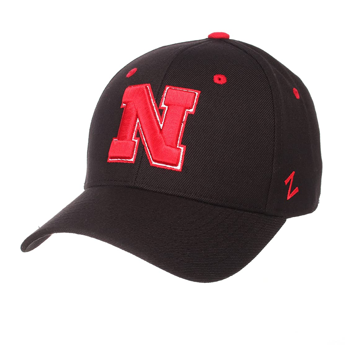 Zephyr Nebraska Cornhuskers Official NCAA DH Size 7 1/8 Fitted Hat Cap by 629307