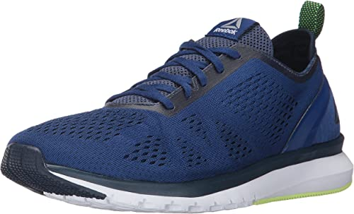Reebok Hommes's Print Smooth Clip ULTK FonctionneHommest chaussures, deep Cobalt coll. Navy Electric Flash blanc Pewter, 8 M US