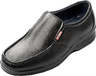 Zebra Men's Formal Black Formal Leather Shoe