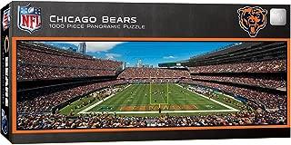 MasterPieces NFL Chicago Bears Stadium Panoramic Jigsaw Puzzle, 1000 Pieces