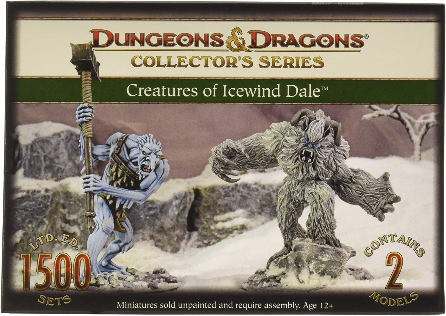 Dungeons & Dragons - Creatures Of Icewind Dale - Gf971026 -. Gale Forza Nove