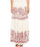 ROMEO & JULIET COUTURE Embroidery Viscose Woven Maxi Skirt