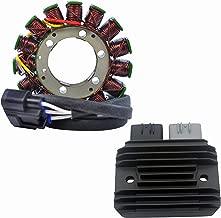 Kit Stator + Mosfet Voltage Regulator Rectifier Fits Kawasaki Ninja ZX-6R 2009-2012 | OEM Repl.# 21003-0083 21066-0028 21066-0731 99999-0377