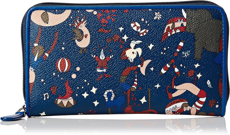 Piero Guidi Women Wallet Magic Circus   bluee  19x10.5x2 cm (W x H x L)