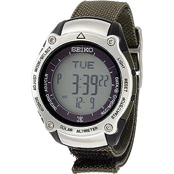 [セイコーウォッチ] 腕時計 プロスペックス アルピニスト ソーラー ハードレックス SBEB017