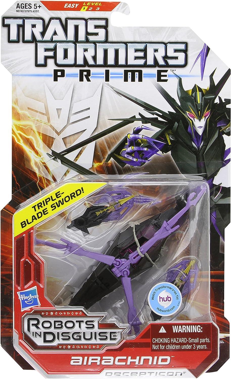 cómodo Transformers Prime Robots In Disguise Deluxe - Airachnid Airachnid Airachnid  autorización