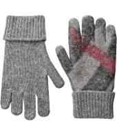 Burberry Kids - Needlepunch Gloves (Little Kids/Big Kids)