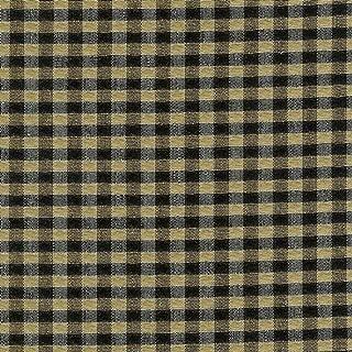 Longaberger Kiddie Purse Khaki Check Fabric Over Edge Basket Liner