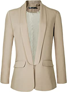 Urban CoCo Women's Open Front Office Blazer Jacket