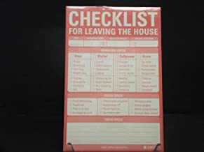 checklist for leaving the house