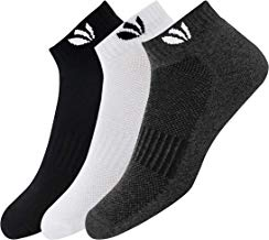 Fresh Feet Organic Combed Cotton Daily Wear Ankle Socks - Pack of 3