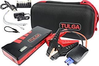 Jump Starter [New Model] Battery Charger Car Truck Semi Trailer Jumper Cables Portable 20000 Mah 900 Amp Peak For RV Campers Ford GMC Chevrolet All Gas, up to 7.0L Diesel Engines Laptops Electronics
