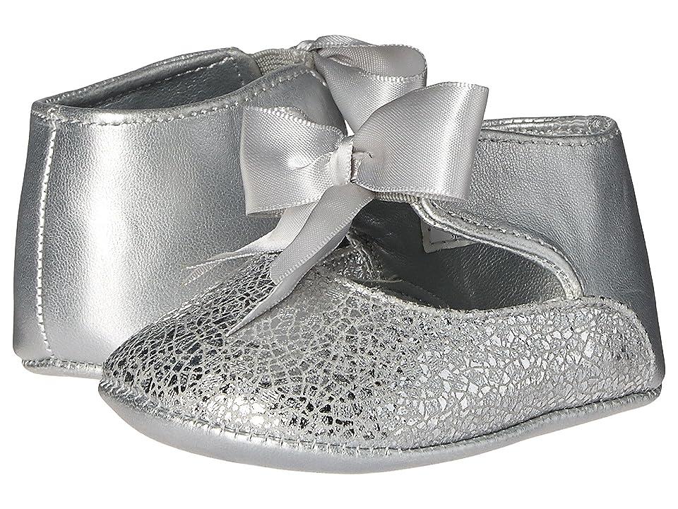 Baby Deer Ribbon Ballet (Infant) (Silver) Girl
