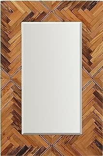 Best large natural wood mirror Reviews