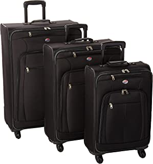 American Tourister At Pops Plus Softside 3-Piece Spinner Wheel Luggage Set