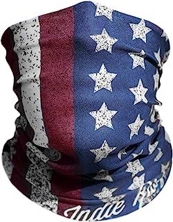 "American Flag Outdoor Motorcycle Mask ""Old Glory"" By Indie Ridge - Ski Snowboard Mask Microfiber Multifunctional Seamless Headwear"