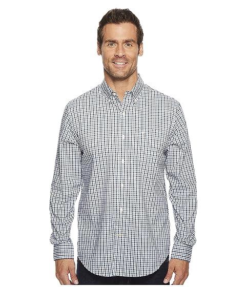 elástica larga Pembroke de tejida Dockers manga Camisa qEOgz