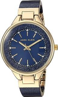 Anne Klein AK1408NVNV Reloj Análogo para Mujer, color Azul