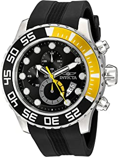 Invicta Mens 20449SYB Pro Diver Analog Display Quartz Black Watch