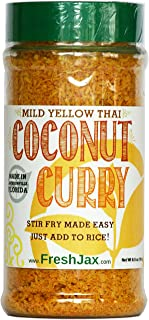 FreshJax Gourmet Thai Coconut Curry Yellow Mild Large 6.5 oz